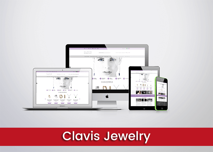clavis jewelry web tasarım